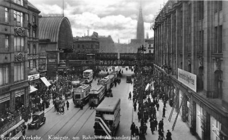 Alexanderplatz station 1930