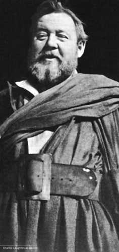 Charles Laughton as Galileo, 1947