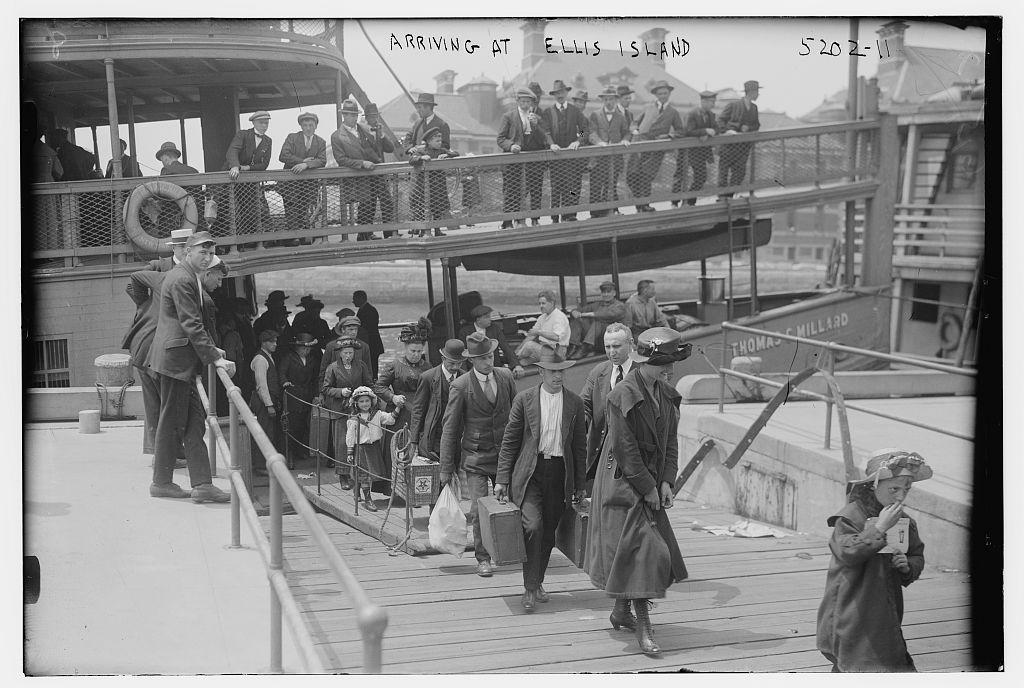 Italian Immigration Through Ellis Island