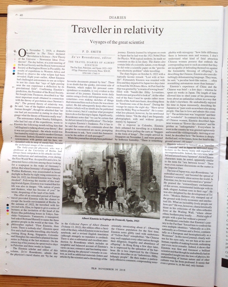 TLS 30 Nov 2018 Einstein, edited